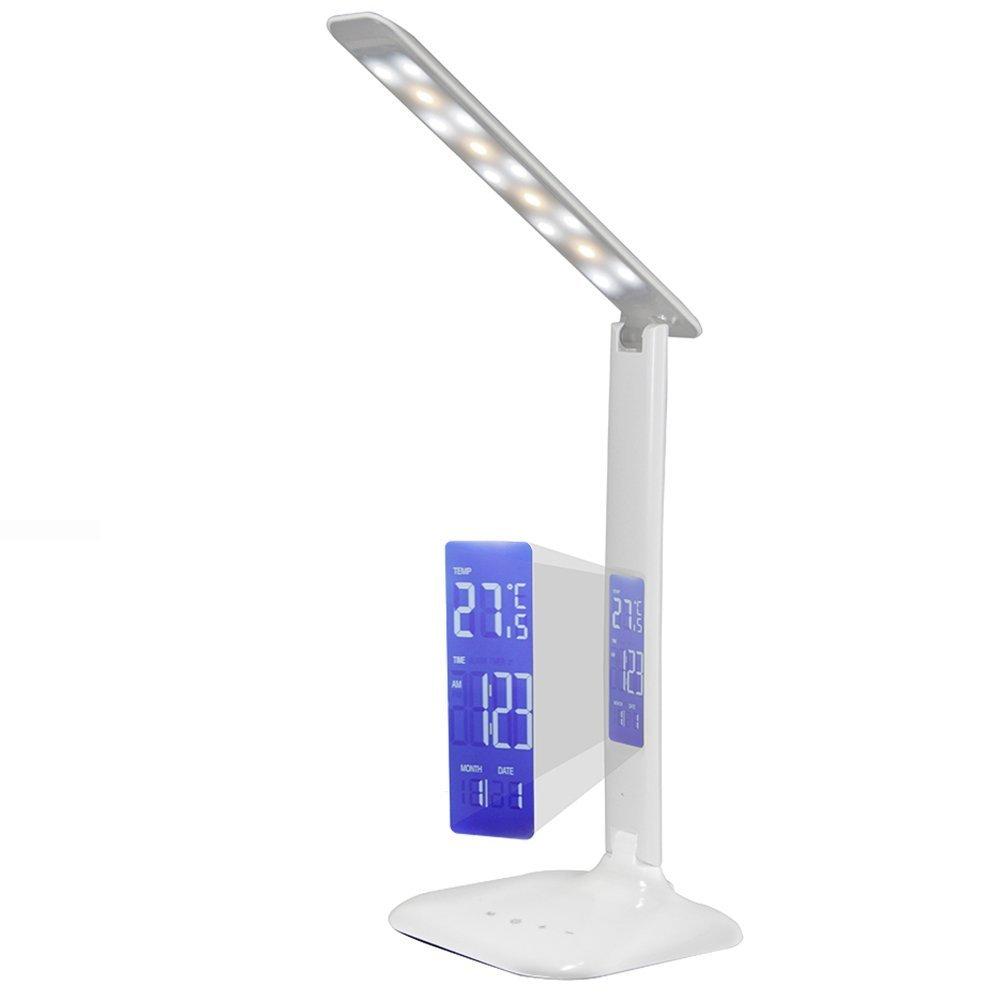 Lámpara de Mesa VSOAIR Plegable Ajustable Control Táctil Dimmable LED Lámpara de