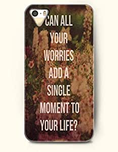 For SamSung Galaxy S5 Mini Phone Case Cover Hard with Design Can All Your Worries And A Single Moment To Your Life?- Flower - For SamSung Galaxy S5 Mini Phone Case Cover
