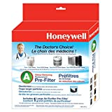 Honeywell HWLHRFAP1 38002 Enviracare Universal Replacement Pre-Filter, Black