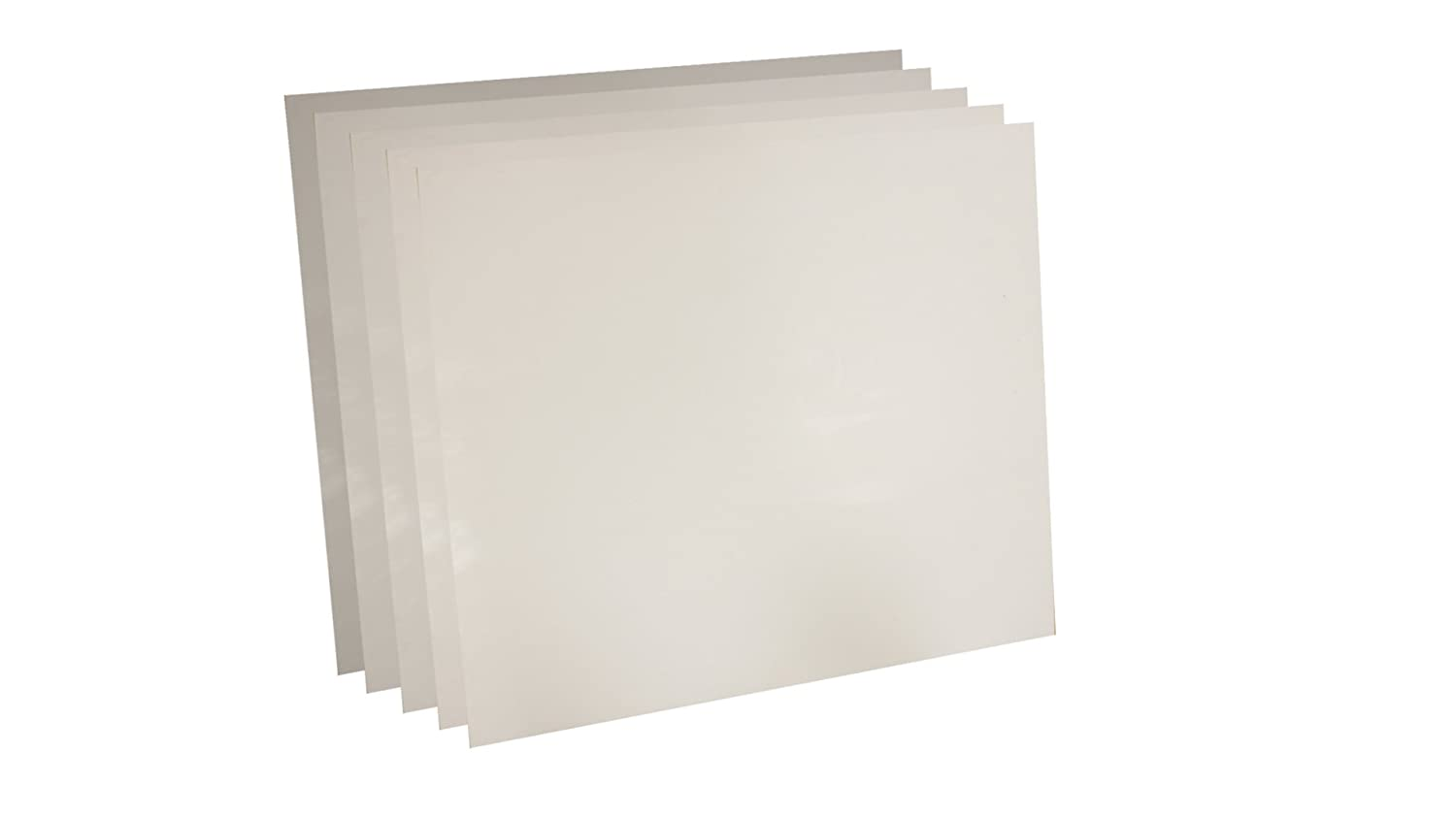 1//64 Thick Sterling Seal 7530.015624x24x5 White Virgin Teflon 7530 Sheet Pack of 5 Sur-Seal Inc Pack of 5 24 x 24 of NJ 1//64 Thick 24 x 24