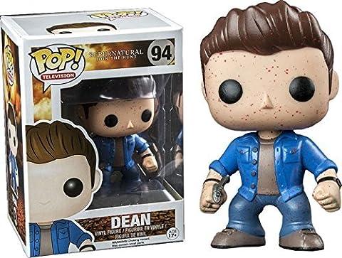 Funko - Figurine Supernatural - Dean Blood Splatter Exclu Pop 10cm - 0849803043087 by FunKo (New Funko Pop Supernatural)
