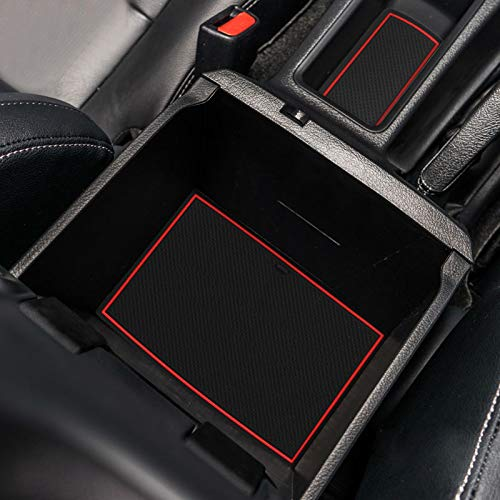 SMABEE Car Center Console Armrest Storage Box Tray for Toyota Hilux REVO SR5 Fortuner 2015-2019 Center Secondary Storage