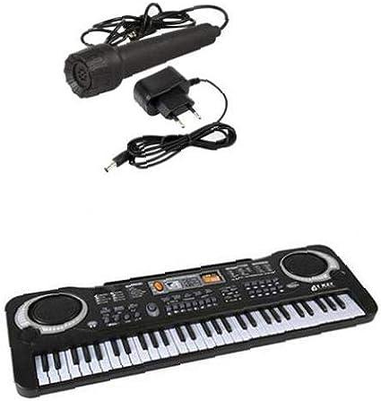 NiceButy 61 Teclas De Piano del Órgano Electrónico del ...