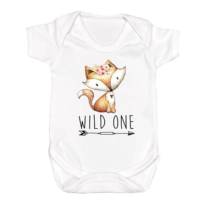 Amazon.com: Wild One tartas de cumpleaños camisa Fox Smash ...
