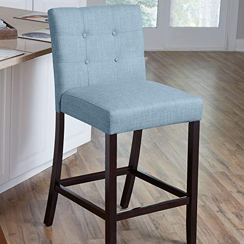 BrylaneHome Aida Plus-Size Living Counter Stool