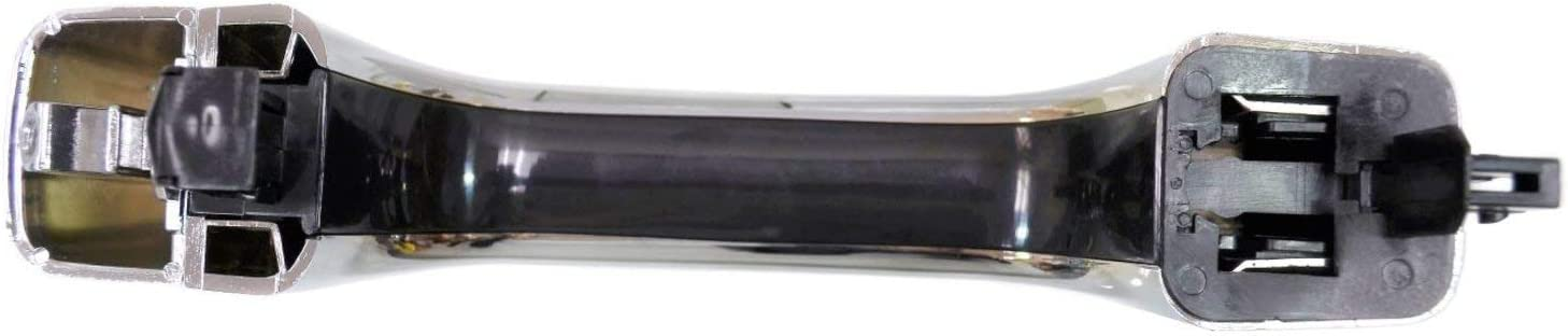 fits Front or Rear Left or Right Exterior Outer Outside Door Handle PT Auto Warehouse GM-3953M Chrome