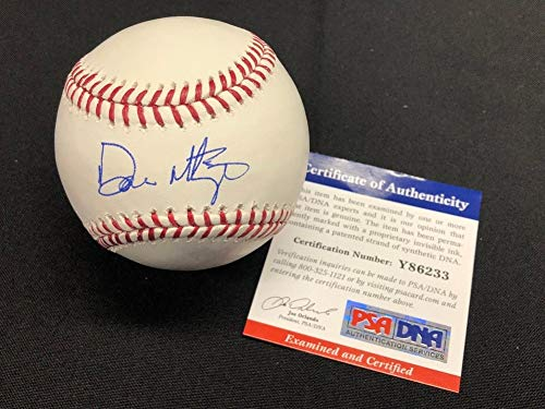 Don Mattingly Autographed Signed Major League Baseball MLB Dodgers PSA Y86233