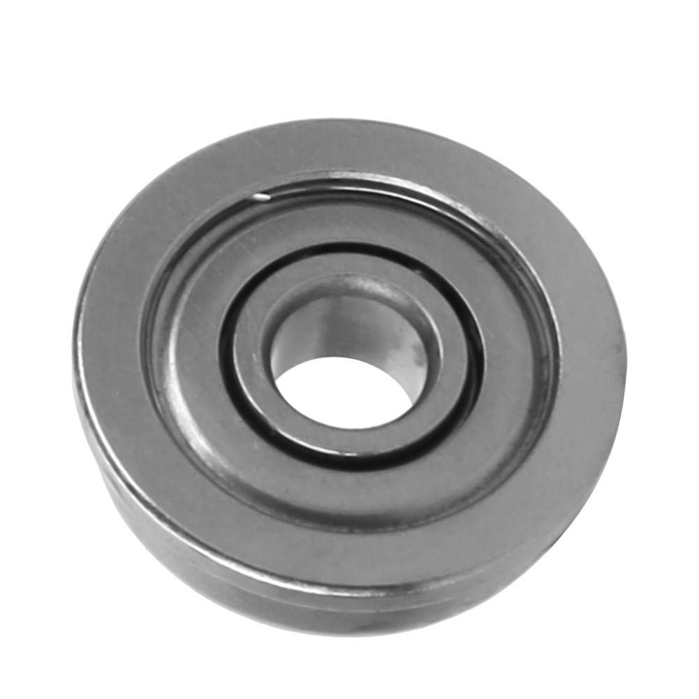 10pcs Miniature Bearing Flange Bearing Flanged Bearing Double Shielded for Motor Used in Linear Motion System Flange Ball Bearing F625ZZ