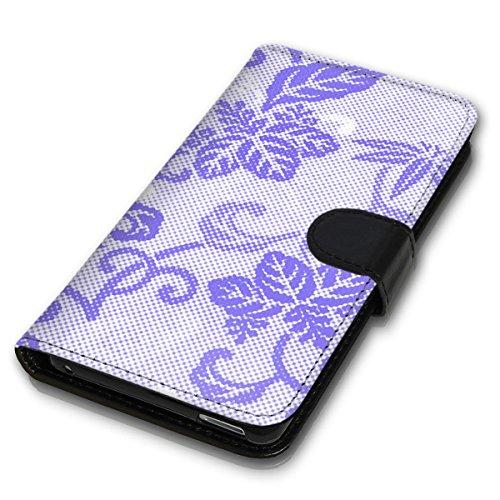 Wallet Book Style Flip Handy Tasche Case Schutz Hülle Schale Motiv Etui für Apple iPhone 5 / 5S - Design Flip MV54