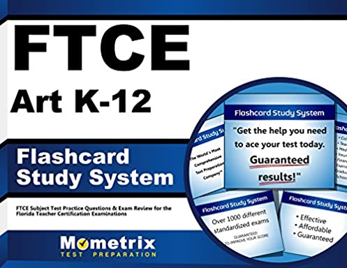 ftce art k 12 flashcard study system ftce test practice questions rh amazon com Subject Area FTCE Study Guides Test Prep