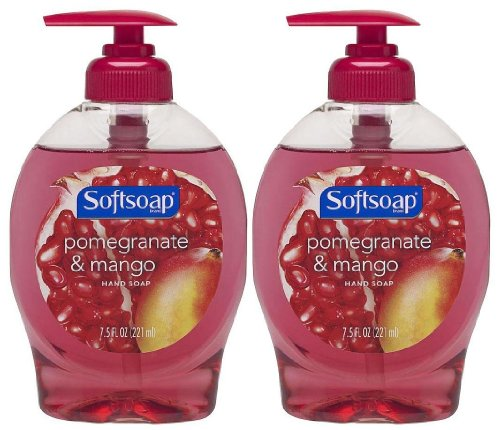 Softsoap Hand Soap, Pomegranate and Mango 7.5 Ounce