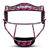 Champro The Grill Youth Softball Fielders Mask - Pink Camo - NEW