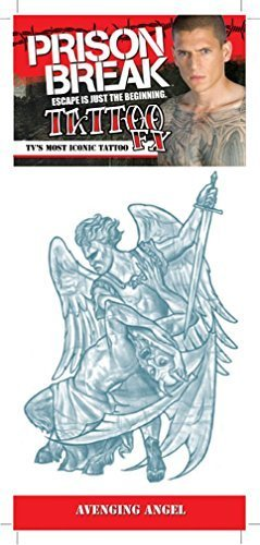 Prison Break Avenging Angel Tattoo by Morris Costumes]()