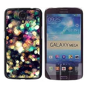 Paccase / SLIM PC / Aliminium Casa Carcasa Funda Case Cover para - Lights Blur Bling Reflective - Samsung Galaxy Mega 6.3 I9200 SGH-i527