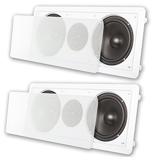 Acoustic Audio CC6 In-Wall 6.5'' Center Channel Speakers In Ceiling 600 Watt 2CC6