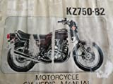 1976 1977 Kawasaki KZ750 B2 Owners Manual KZ 750 B2