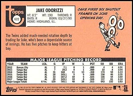 2013 Bowman Blue Border//500 #127 Jake Odorizzi Tampa Bay Rays Rookie Card