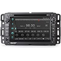 Rupse For GMC Yukon Acadia Chevy Silverado Express 7 Inch Car DVD GPS Player with Bluetooth Phone book and Music