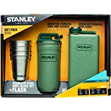 Stanley Adventure Gift Pack with Flask and Shot Set, Hammer Tone Green