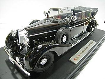 Amazon.com : Signature{Xigenai}1/18 Mercedes Benz 770K Hitler car alloy models : Baby