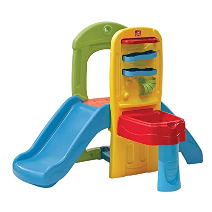 73b691cbcae32b Amazon.com  Step2 Play Ball Fun Climber With Slide For Toddlers  Toys    Games