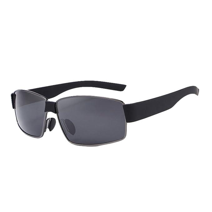 MERRYHE Mens Wayfarer Gafas De Sol Polarizadas UV 400 Lentes De Protección Diseño Vintage Al Aire
