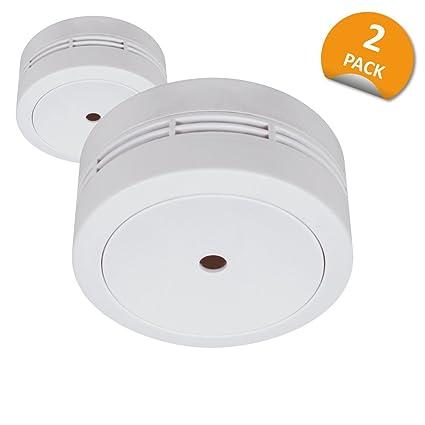 Elro fs781021 Mini Detector de Humo, 2 Unidades, 2 Unidades, Color Blanco
