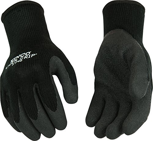 Warm Grip Kinco (Kinco 1790-XL-1 Warm Grip Latex Gloves, 10