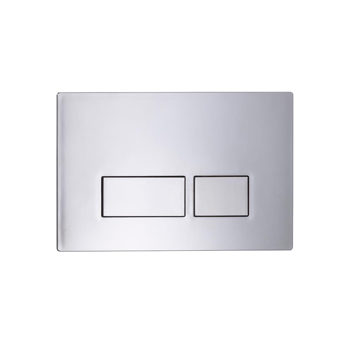 Tavistock Square Flush Plate Chrome SQFPC