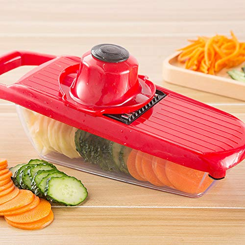 arance , Blades Mandoline Slicer Vegetable Cutter Potato Onion Carrot Grater Chopper ()