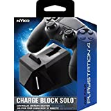 Nyko Charge Block Solo - PlayStation 4 (Color: Black, Tamaño: Solo)