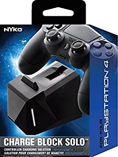 Nyko Charge Block Solo - Controller Charging Station with Patented Charge Dongle and Micro-USB/AC Power Cord for PlayStation 4 (B01H1QQW20) | Amazon Products