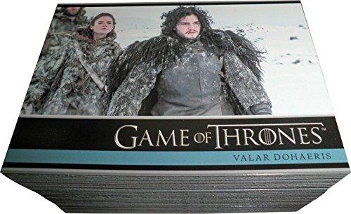 2014 Game of Thrones Season 3 Trading Cards 98-card Base Set