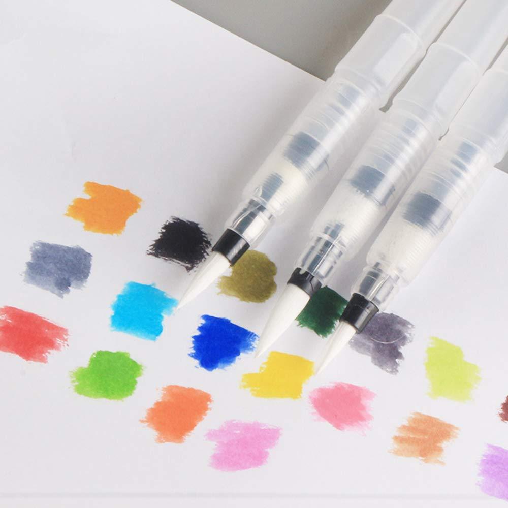 pintura acr/ílica aceite Juego de 10 pinceles de pintura profesional AOOK para acuarela