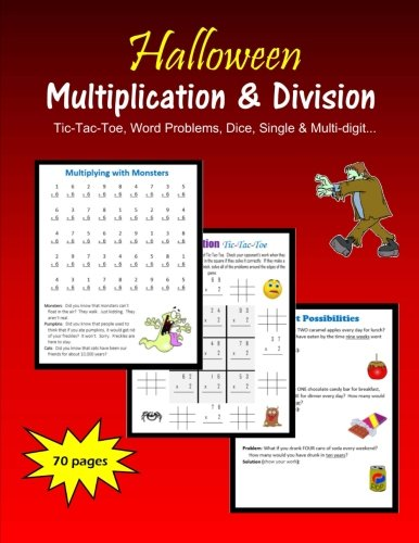 Halloween Multiplication and Division ()