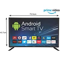 eAirtec 81 cm (32 inches) HD Ready Smart LED TV 32DJSM (Black)