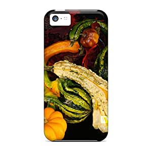 High Quality Phone Case Fall Gourds Skin Case Cover Specially Designed For Iphone - 5c