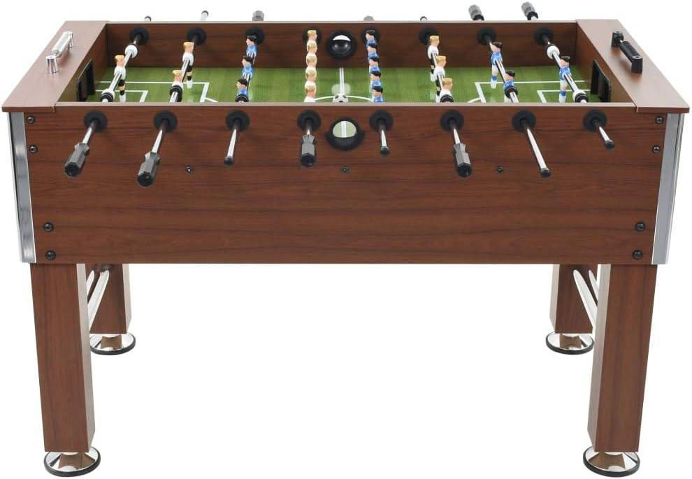 Tidyard - Futbolín de Acero (60 kg, 140 x 74,5 x 87,5 cm), Color ...