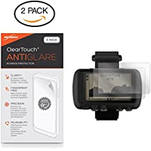 Garmin Foretrex 601 Screen Protector, BoxWave [ClearTouch Anti-Glare (2-Pack)] Anti-Fingerprint Matte Film Skin for Garmin Foretrex 601