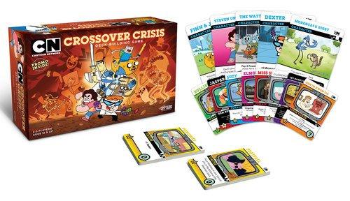 Cryptozoic Entertainment Cartoon Network Crossover Crisis Deck Building Game