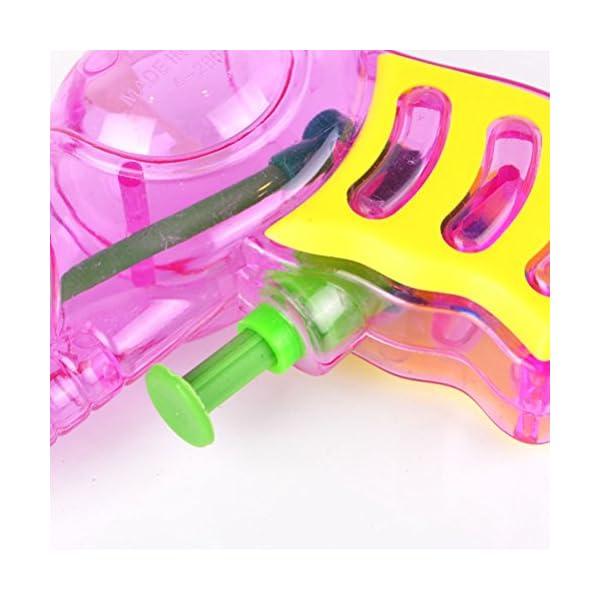 TOYMYTOY Acqua in plastica per pistola Squirt per bambini 6pcs (tipo e colore casuale) 2 spesavip