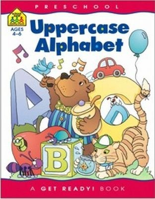Workbook Uppercase Aliphabet 36 pcs sku# 905199MA