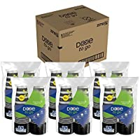 6-Pack Dixie Grab 'N Go Paper Cups and Lids (156-Ct.)