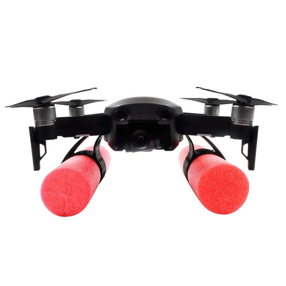 FidgetGear New 1 Set Landing Gear Skip Float Kit Landing On Water For DJI Mavic Air Drone show One