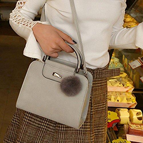 Fille Sac Voyage Gris À Pu Pour Porté Crossbody Femmes Épaule Bandoulière Classique La Main Portable Bag Cabina Mode qaExfwvAH