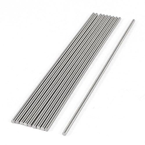 10pcs 1.8mm x 100mm Graving Tool Round Turning Lathe Bars Gray DealMux DLM-B00MJSPNFI