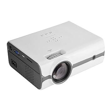 Richer-R 1080P Proyector LCD para Home Cinema,Proyector de Vídeo ...