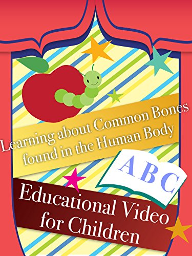 Learning about Common Bones found in the Human Body Educational Video for Children