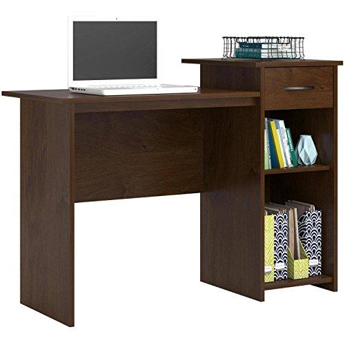 Adjustable Gel Mouse Wrist Pad - Furniture Computer Desk w/ Adjustable Shelf & Free Wrist Rest Gel Mouse Pad - Northfield Alder