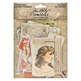 Tim Holtz, Advantus Ephemera Pack Keepsakes Printed Memorabilia, multicolor